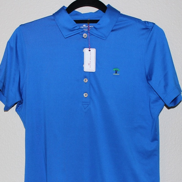 5c5008110f59a Brand New with tags Peter Millar Polo Shirt Mens M NWT